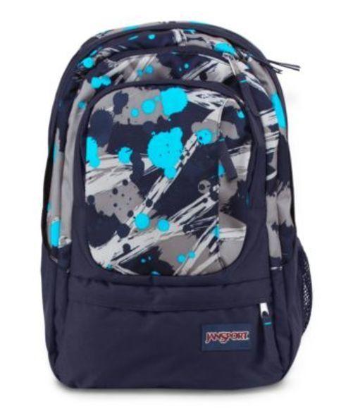 JANSPORT ジャンスポーツ バックパック リュックサック AIR CURE MAMMOTH BLUE SUPER SPLASH バッグ カバン