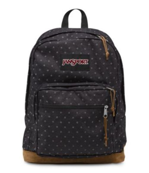 JANSPORT ジャンスポーツ バックパック リュックサック RIGHT PACK EXPRESSIONS GREY デニム POLKA DOT バッグ カバン