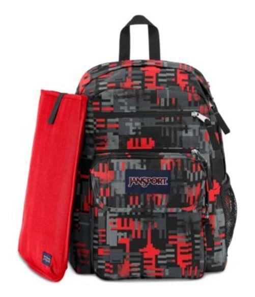 ジャンスポーツ JANSPORT DIGITAL STUDENT BACKPACK HIGH RISK RED CHECKERS バッグ 鞄 リュックサック バックパック