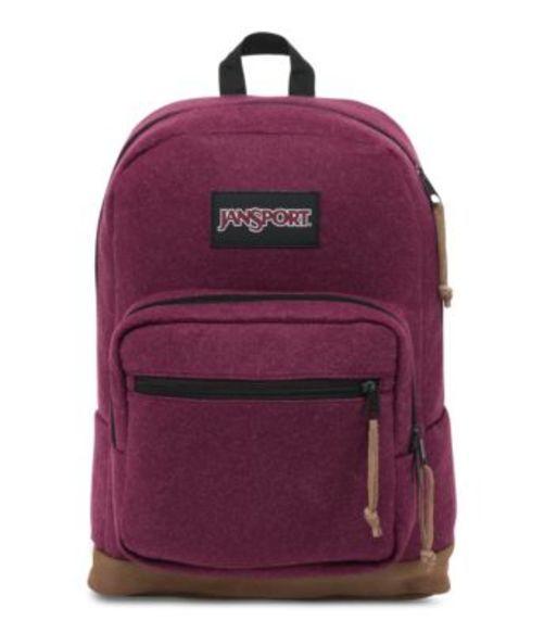 ジャンスポーツ JANSPORT RIGHT PACK DIGITAL EDITION BACKPACK MAROON RED FELT バッグ 鞄 リュックサック バックパック