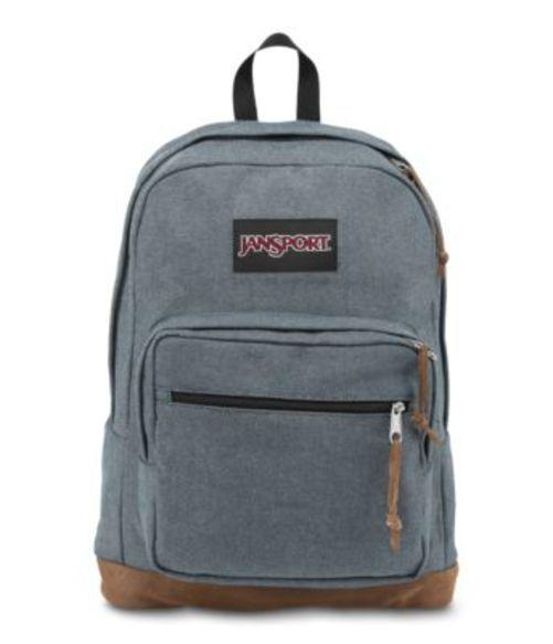 ジャンスポーツ JANSPORT RIGHT PACK EXPRESSIONS BACKPACK BLUE MICRO CHECK デニム バッグ 鞄 リュックサック バックパック