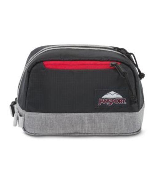 ジャンスポーツ JANSPORT DOPP KIT LD BLACK POLY RIPSTOP GREY MARL バッグ 鞄 リュックサック バックパック
