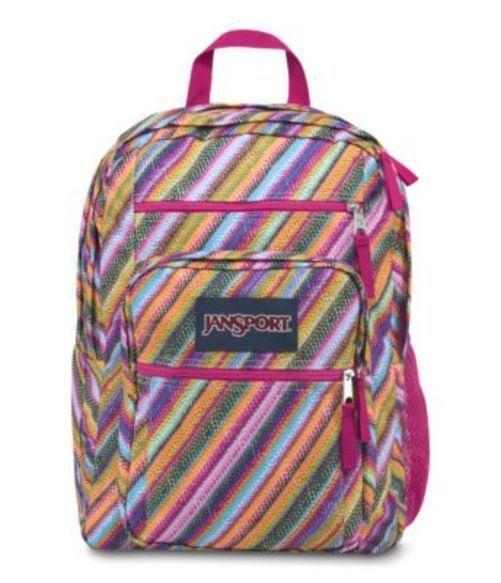 ジャンスポーツ JANSPORT BIG STUDENT BACKPACK MULTI TEXTURE STRIPE バッグ 鞄 リュックサック バックパック