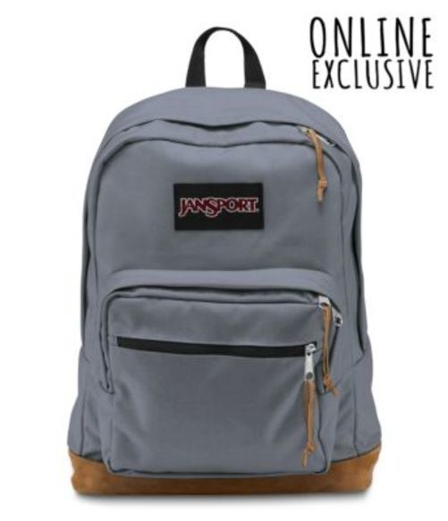 Blue バッグ 鞄 リュックサック バックパック PACK ジャンスポーツ Pewter BACKPACK RIGHT JANSPORT