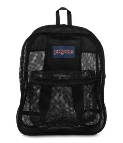 ジャンスポーツ JANSPORT MESH PACK BACKPACK BLACK バッグ 鞄 リュックサック バックパック