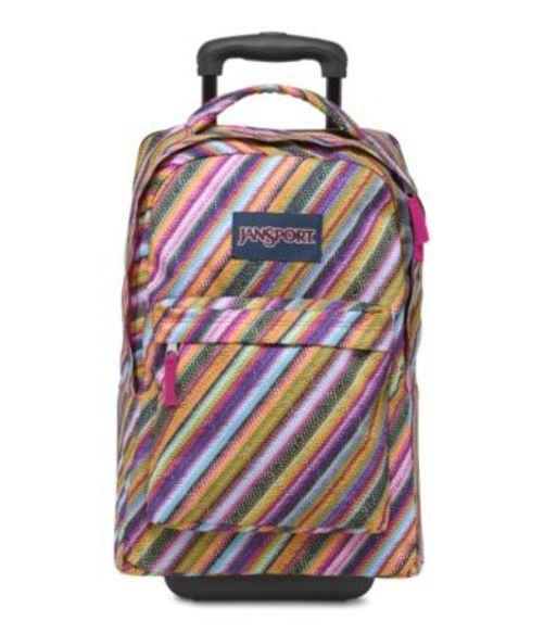 ジャンスポーツ JANSPORT WHEELED SUPERBREAK BACKPACK MULTI TEXTURE STRIPE バッグ 鞄 リュックサック バックパック