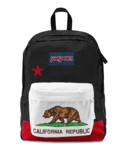 ジャンスポーツ JANSPORT SUPERBREAK BACKPACK RED NEW CALIFORNIA REPUBLIC バッグ 鞄 リュックサック バックパック