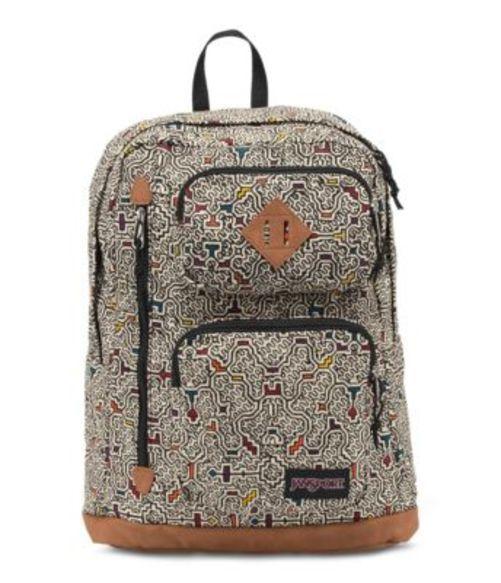 ジャンスポーツ JANSPORT HOUSTON BACKPACK NEUTRAL PERUVIAN MAZE バッグ 鞄 リュックサック バックパック