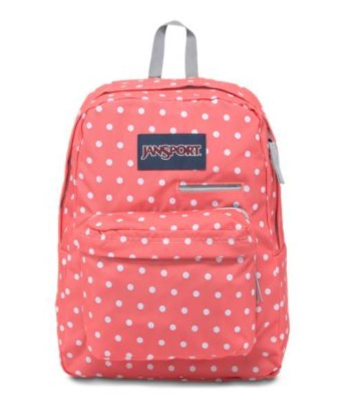 DIGIBREAK CORAL DOTS 鞄 JANSPORT リュックサック バックパック SPARKLE BACKPACK ジャンスポーツ WHITE バッグ
