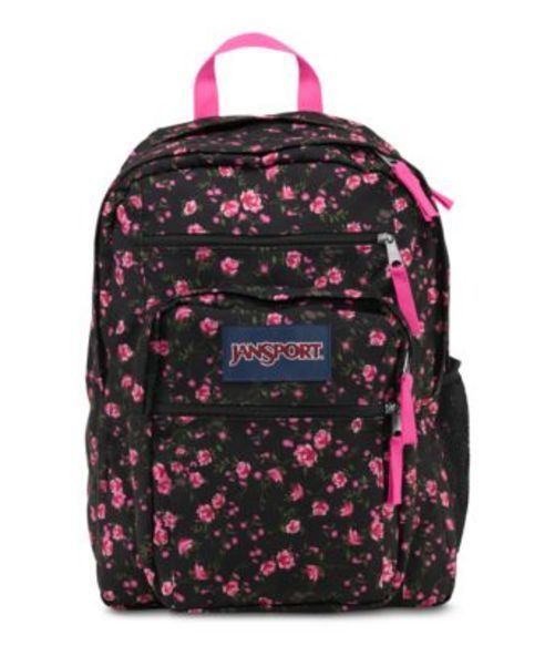 5c0479a235d8 ジャンスポーツ JANSPORT BIG STUDENT BACKPACK LIPSTICK PINK TEA ROSE DITZY バッグ 鞄  リュックサック バック