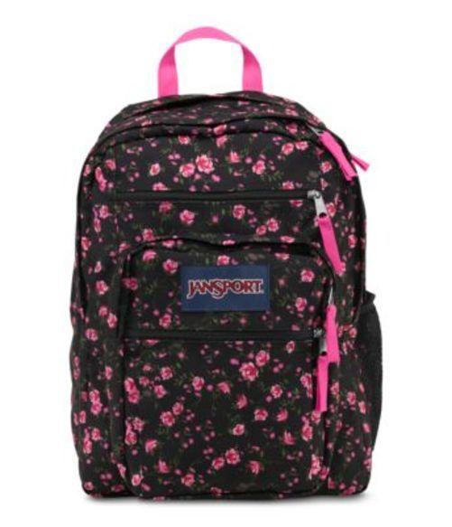 ジャンスポーツ JANSPORT BIG STUDENT BACKPACK LIPSTICK PINK TEA ROSE DITZY バッグ 鞄 リュックサック バックパック