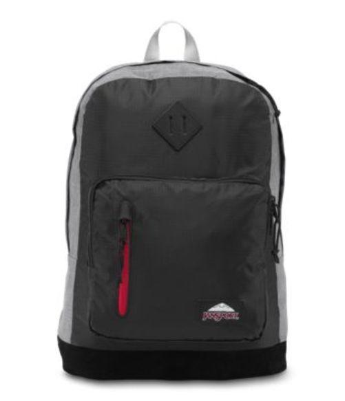 ジャンスポーツ JANSPORT RIGHT PACK DE LD BACKPACK BLACK POLY RIPSTOP GREY MARL バッグ 鞄 リュックサック バックパック