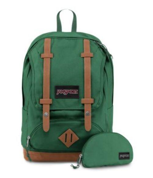 ジャンスポーツ JANSPORT BAUGHMAN BACKPACK BARBER GREEN キャンバス バッグ 鞄 リュックサック バックパック