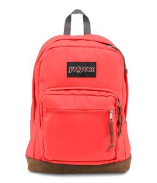 ジャンスポーツ JANSPORT RIGHT PACK BACKPACK TAHITIAN ORANGE バッグ 鞄 リュックサック バックパック