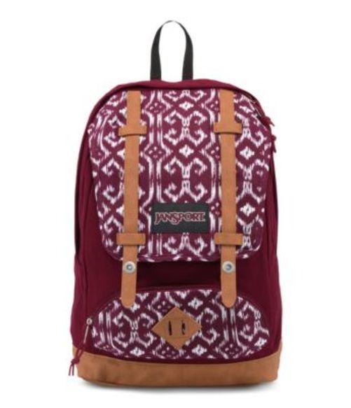 ジャンスポーツ JANSPORT BAUGHMAN BACKPACK RUSSET RED MOROCCAN IKAT バッグ 鞄 リュックサック バックパック