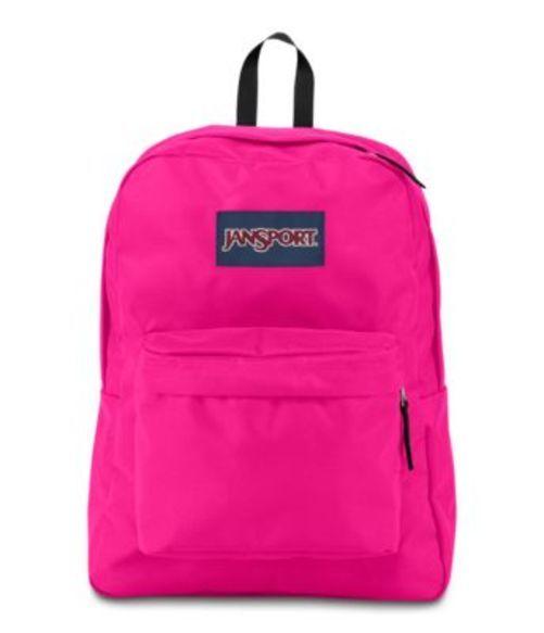 ジャンスポーツ JANSPORT SUPERBREAK BACKPACK CYBER PINK バッグ 鞄 リュックサック バックパック