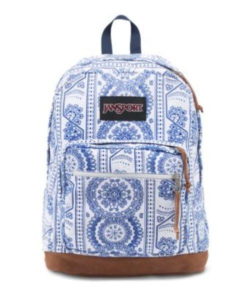 ジャンスポーツ JANSPORT RIGHT PACK EXPRESSIONS BACKPACK WHITE SWEDISH LACE バッグ 鞄 リュックサック バックパック