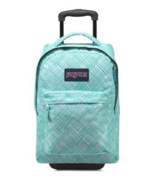 ジャンスポーツ JANSPORT WHEELED SUPERBREAK BACKPACK AQUA DASH JAGGED PLAID バッグ 鞄 リュックサック バックパック