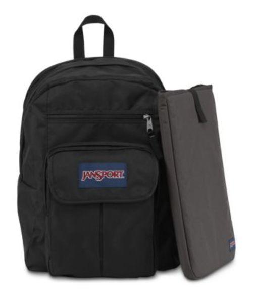ジャンスポーツ JANSPORT DIGITAL STUDENT BACKPACK BLACK FORGE GREY バッグ 鞄 リュックサック バックパック