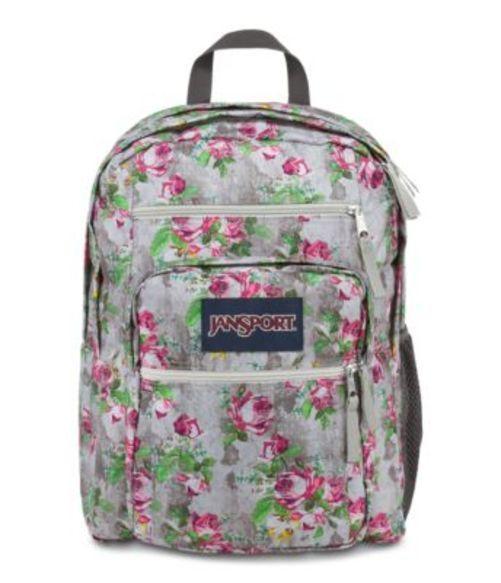ジャンスポーツ JANSPORT BIG STUDENT BACKPACK MULTI CONCRETE FLORAL バッグ 鞄 リュックサック バックパック