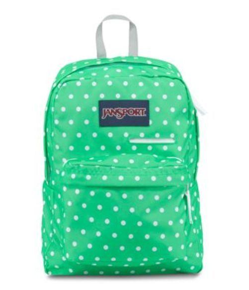 ジャンスポーツ JANSPORT DIGIBREAK BACKPACK SEAFOAM GREEN WHITE DOTS バッグ 鞄 リュックサック バックパック