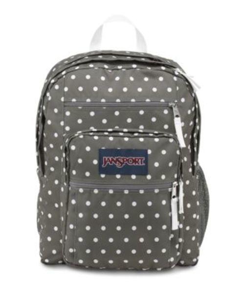 ジャンスポーツ JANSPORT BIG STUDENT BACKPACK SHADY GREY WHITE DOTS バッグ 鞄 リュックサック バックパック