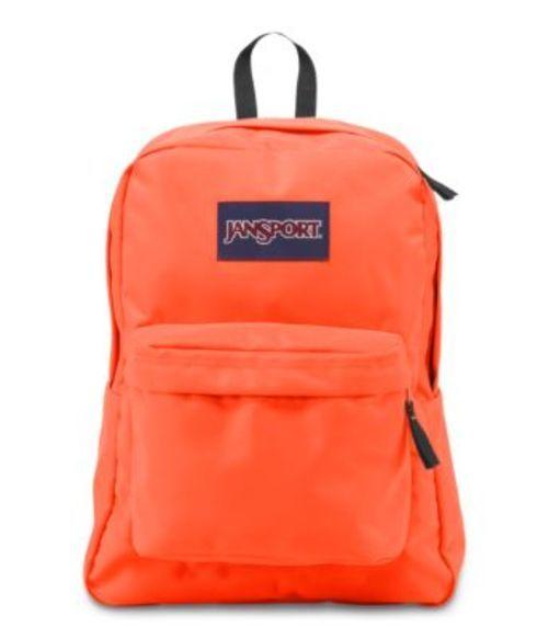 ジャンスポーツ JANSPORT SUPERBREAK BACKPACK TAHITIAN ORANGE バッグ 鞄 リュックサック バックパック