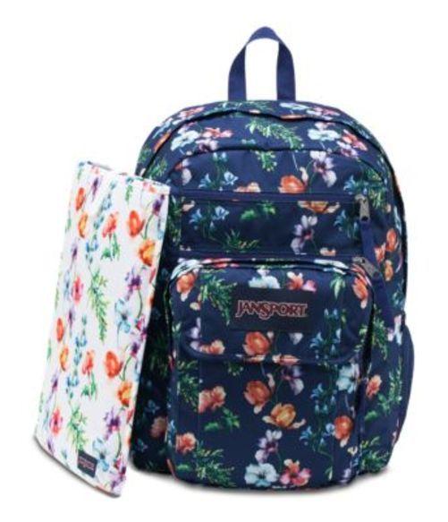 ジャンスポーツ JANSPORT DIGITAL STUDENT BACKPACK MULTI NAVY MOUNTAIN MEADOW バッグ 鞄 リュックサック バックパック