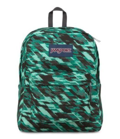 ジャンスポーツ JANSPORT SUPERBREAK BACKPACK AQUA DASH STATIC バッグ 鞄 リュックサック バックパック