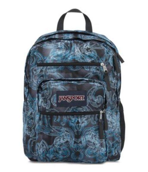 ジャンスポーツ JANSPORT BIG STUDENT BACKPACK MULTI ORNATE BLUES バッグ 鞄 リュックサック バックパック