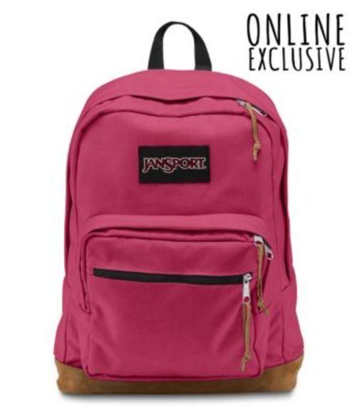 ジャンスポーツ JANSPORT RIGHT PACK BACKPACK Sangria Pink バッグ 鞄 リュックサック バックパック
