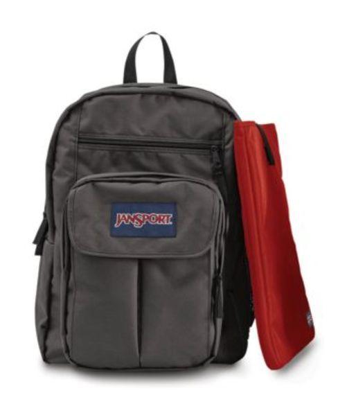 ジャンスポーツ JANSPORT DIGITAL STUDENT BACKPACK FORGE GREY バッグ 鞄 リュックサック バックパック