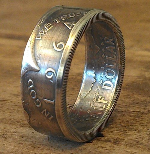 JFK Kennedy Half Dollars ジョンFケネディー50セントコインリング シップス ビームス ユナイテッドアローズ