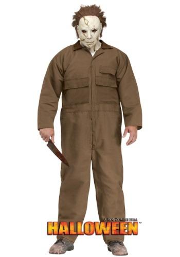 【全品P5倍】Rob ゾンビ Halloween Michael Myers Men's 大きいサイズ コスチューム ハロウィン メンズ コスプレ 衣装 男性 仮装 男性用 イベント パーティ ハロウィーン 学芸会