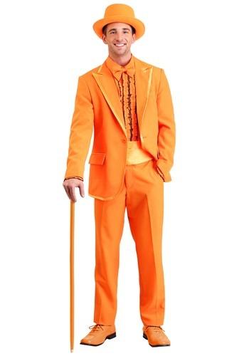 Orange Tuxedo 大きいサイズ コスチューム ハロウィン メンズ コスプレ 衣装 男性 仮装 男性用 イベント パーティ ハロウィーン 学芸会 学園祭 学芸会 ショー お遊戯会 二次会 忘年会 新年会 歓迎会 送迎会 出し物 余興 誕生日 発表会 バレンタイン ホワイトデー