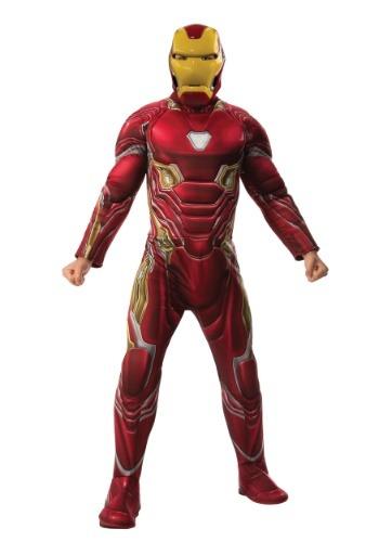 大人用 マーベル Infinity War デラックス Iron Man コスチューム ハロウィン メンズ コスプレ 衣装 男性 仮装 男性用 イベント パーティ ハロウィーン 学芸会