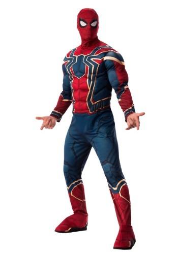 マーベル 大人用 Infinity War デラックス Iron Spider コスチューム ハロウィン メンズ コスプレ 衣装 男性 仮装 男性用 イベント パーティ ハロウィーン 学芸会