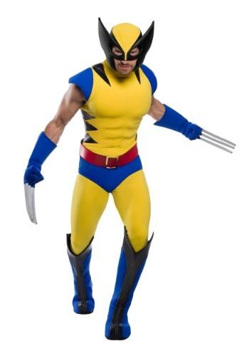 Premium マーベル Wolverine 大きいサイズ Men's コスチューム ハロウィン メンズ コスプレ 衣装 男性 仮装 男性用 イベント パーティ ハロウィーン 学芸会