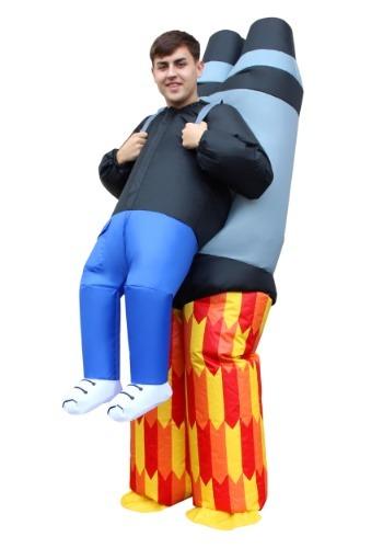 Inflatable 大人用 Jet Pack Pick Me Up コスチューム ハロウィン メンズ コスプレ 衣装 男性 仮装 男性用 イベント パーティ ハロウィーン 学芸会