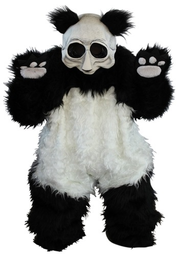 ゾンビ Panda コスチューム ハロウィン メンズ コスプレ 衣装 男性 仮装 男性用 イベント パーティ ハロウィーン 学芸会 学園祭 学芸会 ショー お遊戯会 二次会 忘年会 新年会 歓迎会 送迎会 出し物 余興 誕生日 発表会 バレンタイン ホワイトデー