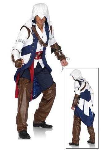 Assassin's Creed Connor コスチューム ハロウィン メンズ コスプレ 衣装 男性 仮装 男性用 イベント パーティ ハロウィーン 学芸会 学園祭 学芸会 ショー お遊戯会 二次会 忘年会 新年会 歓迎会 送迎会 出し物 余興 誕生日 発表会 バレンタイン ホワイトデー