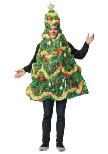 Get Real Christmas Tree 大人用 コスチューム ハロウィン メンズ コスプレ 衣装 男性 仮装 男性用 イベント パーティ ハロウィーン 学芸会 学園祭 学芸会 ショー お遊戯会 二次会 忘年会 新年会 歓迎会 送迎会 出し物 余興 誕生日 発表会 バレンタイン ホワイトデー