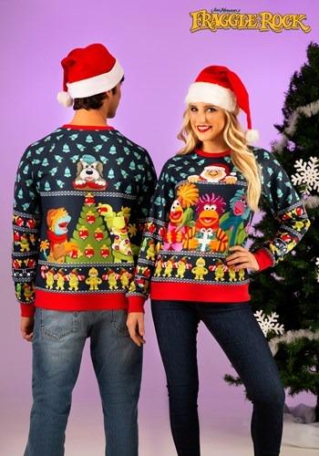 大人用 Fraggle Rock Sublimated Ugly Christmas Sweater ハロウィン メンズ コスプレ 衣装 男性 仮装 男性用 イベント パーティ ハロウィーン 学芸会