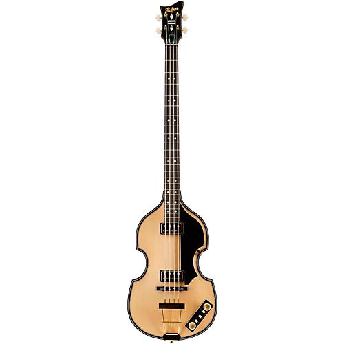 【マラソン全品P5倍】Hofner ヘフナー 5000 1 Deluxe 4-String Electric Bass Guitar Natural ベースギター エレクトリックベース