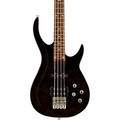 Rogue ローグ LX400 Series III Pro Electric Bass Guitar Transparent Black ベースギター エレクトリックベース