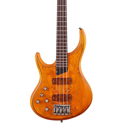 MTD Kingston KZ Left-Handed Bass Burled Maple Rosewood Fretboard ベースギター エレクトリックベース