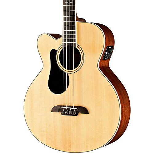 【全品P5倍】Alvarez AB60LCE Left-Handed Acoustic-Electric Bass Guitar Natural ベースギター アコースティックベース