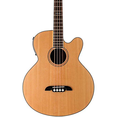 【全品P5倍】Alvarez Artist Series AB60CE Acoustic-Electric Bass Guitar Natural ベースギター アコースティックベース