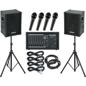 ギア ワン Gear One PA2400 Kustom KPC12 PA Package ライブサウンド スピーカー