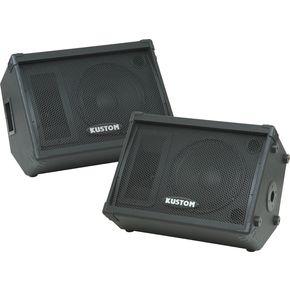 カスタム Kustom KPC12M 12IN Monitor Speaker Cab with Horn Pair ライブサウンド スピーカー